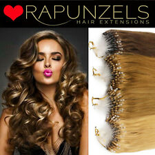 "20"" Micro ring easy loop human hair extensions 1 gram indian remy grade AAA"
