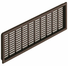 Ventilation Grill 149 - 225mm Length 40 -120mm Brown Recess Mount, Plinths W/Top