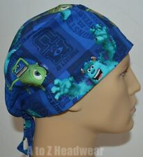 Monster's University Surgical Scrub Cap Hat