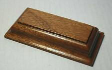 Plinth, Base for Models, Trophies,Figurines, Bonsai, MAHOGANY  4 sizes   (ROG