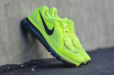 Mens Nike Air Max 2014 + Classic Running Sneakers New, Volt / Black 621077-700