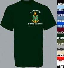 42 COMMANDO ROYAL MARINES COMMANDO SHORT LONG SLEEVE T SHIRT EXTRA SMALL TO  5XL
