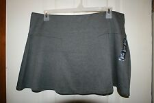 GAP Womens Above-Knee Polyester Blend Stretch Flare Skirt ~ Gray