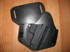 Sig Sauer IWB/OWB combo Kydex/Leather Hybrid Holster with adjustable retention