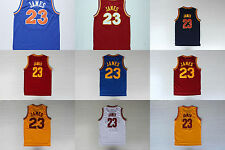 Cleveland #23 Lebron James Basketball Jersey High Quality Embroidery Stitched