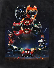 Power Rangers Turbo Movie Poster Gigante-A0 A1 A2 A3 A4 Tamaños