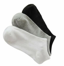 NEW!! 6 PAIRS LOW CUT ANKLE SOCKS size 6-9 GRAYS MEN/ WOMEN CASUAL NO SHOW THIN