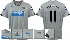 *14 / 15 - PUMA ; NEWCASTLE UTD AWAY SHIRT SS + PATCHES / ASPRILLA 11 = KIDS*
