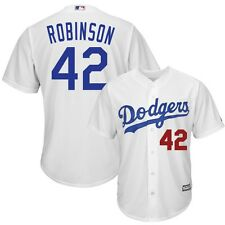 2015 Jackie Robinson Los Angeles Dodgers Home (White) Cool Base Jersey Men's