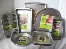Bakeware Heavy Steel Baking Pans Meatloaf Cookies Pizza Biscuit Cake Muffin Loaf