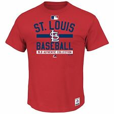 St. Louis Cardinals 2015 Authentic Collection Property OF T-shirt - Red