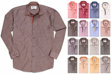 Mens Designer Long Sleeve Tops Formal High Quality Casual Dress Shirts BNWT SALE
