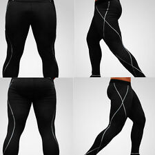 Men's Compression Pants Base Layer Tights for Training Fitness Workout