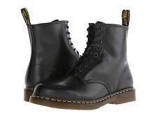 Dr. Martens Men`s 1460 Black Smooth 8 Eye Boots Lace Up ALL SIZES!