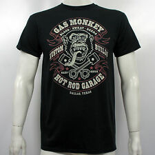 Licensed GAS MONKEY GARAGE Dallas Texas Fast N Loud Hot Rod T-Shirt S-2XL NEW