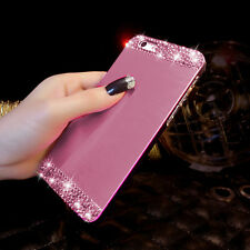 New Crystal Rhinestone Diamond Bling Hard Case Cover For iPhone 5 5S 6 6 5.5""