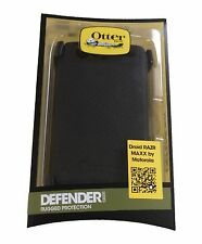 Brand New! Otterbox Defender Case For Motorola Droid RAZR MAXX With Belt Clip
