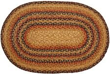 Homespice Timber Trail Oval Braided Jute Area Rug