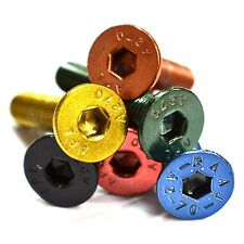 M6 GWR Colourfast Stainless Countersunk Screws 2Pk - Black Blue Red Green Copper