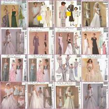 Misses Formal Prom Bridal Evening Gown Cocktail Dress OOP McCalls Sewing Pattern