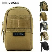 MOLLE Outdoor sport small mini muddy kit tool utility cell phone purse pouch bag