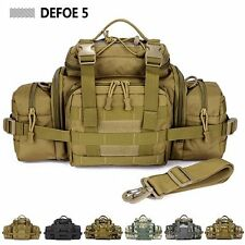New Large Big Tablet Camera Tactical Gear Military Waist Shoulder Tote Army Bag