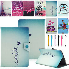 """Universal Adjustable Vogue PU Leather Stand Cover Case For 10"""" 10.1"""" Inch Tablet"""