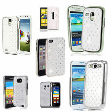 White diamante Jewel Case Cover for Various Mobile Phones