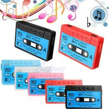 16GB Support USB Disk Cassette Flash MP3 Music Player Micro SD TF Card Earphone
