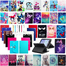 "NEW For Verizon Ellipsis 7"" RCA 7 Inch Tablet Universal Leather Stand Case Cover"