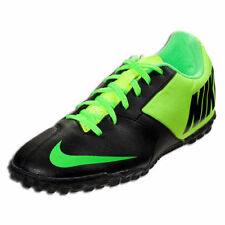 NIKE NIKE5 BOMBA II TURF SOCCER SHOES INDOOR FUTSAL ASTROS BLACK/LEMON TWIST