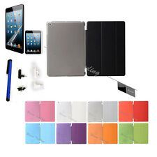HOT Slim Magnetic Smart Cover Wake Sleep For Apple Ipad With Hard Back Case