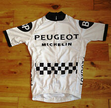 Vintage style cycling jersey - Tommy Simpson Peugeot replica