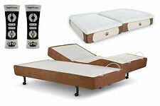 "Adjustable Bed SCAPE Performance Leggett & Platt w/Dynasty 14"" GEL Mattress Foam"