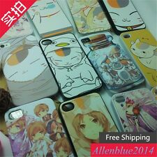 Japan Anime Natsume yuujinchou Moblie Case Cover for Apple iPhone 4 5 6P S3 S4