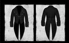 Mens tailcoat cotton Vintage pirate dress Victorian jacket with tails Wedding