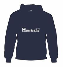 """HURRICANE X-75"" MOTORCYCLE TRIPLE TRIUMPH BSA MENS HOODIE MED-2XL  SHIRT"