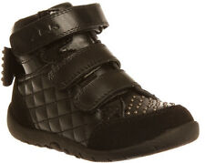 CLARKS SAHARA CHILDREN/TODDLER/INFANTS/KIDS/GIRLS BOOTS/SHOES/HI TOP SNEAKERS