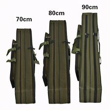 Black/Army Fishing Rod Holdall Bags Organizer Tackle Rod Carry Case 70/80/90cm
