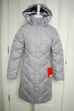NWT THE NORTH FACE WOMENS MISS METRO PARKA DOWN PUFFER GRAY