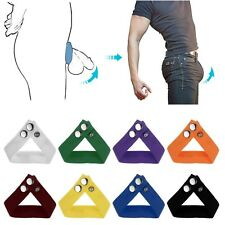 Sexy Mens Booster Bulge Lifter Underwear Thong C-strap Mention Ring Bracelet Hot