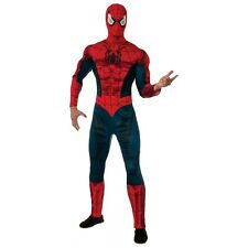 Adult Spider-Man Costume Marvel Superhero Halloween Fancy Dress