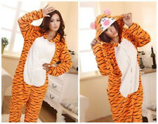 New Unisex Adult Pajamas Kigurumi Cosplay Costume Animal Onesie Sleepwear Tigger