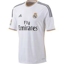 New Real Madrid Adidas white childrens home short sleeve football shirt 2013-14