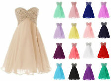 2015 New Short Formal Homecoming Bridesmaid Wedding Party Prom Evening Dresses