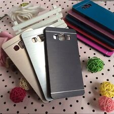 Luxury Brush Metal Aluminum Shell Back Case Cover Skin For Samsung Galaxy A3 A7