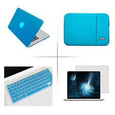 Rubberized Crystal Hard Case sleeve bag keyboard cover for Apple macbook Air pro