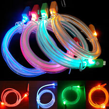 CHARGEUR LUMINEUX! CABLE USB Pour Iphone 4/5/6   Android  et Samsung Phones