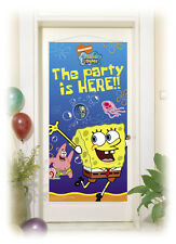Spongebob Square Pants Party Is Here Door Banner 152 x 76cm 1-5pk