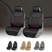 Multifunctional Quilted Leatherette Car Seat Cushion Pads